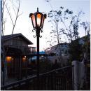LED ガーデン ポール ライト ロージー  /銅