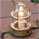 (LED仕様、白熱球) BH1000 CL クリアーガラス 真鍮照明/磨き仕上