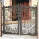 三協 アルミ 鋳物門扉 両開き ビアンベール