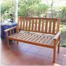 木製庭園家具 ニューヨーク 3シートベンチ