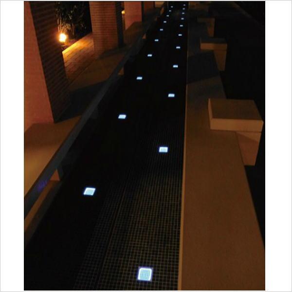 LED装飾 ソーラーブリック|ブリックアート