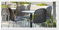 アルミ製ガーデン ファニチャー家具